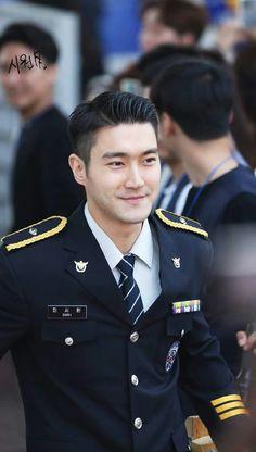 Siwon military service