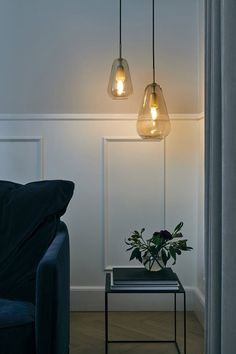Buy online Anoli 1 small By nuura, blown glass pendant lamp design Sofie Refer, anoli Collection Chimney Decor, Muuto, Bright Homes, Bedroom Lamps, Contemporary Lamps, Living Room Lighting, Hanging Lights Living Room, Living Room Lamps, Dining Room