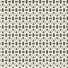 Lace Wallpaper - Onyx/Chalk (110225) - Scion Melinki Wallpapers Collection