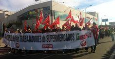 Éxito de la manifestación convocada por UGT en apoyo a los trabajadores de Gigante - villalbainformacion.com