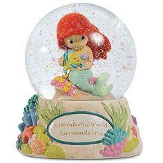 Precious Moments Little Mermaid Snowglobe