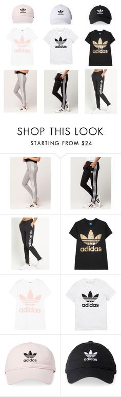 """Untitled #6"" by lifelikebella ❤ liked on Polyvore featuring adidas and adidas Originals"