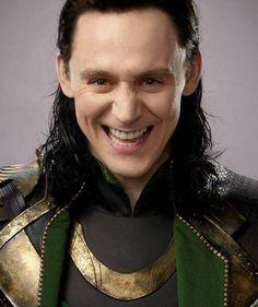 Tom Hiddleston as Loki from Smosh Magazine Issue 2
