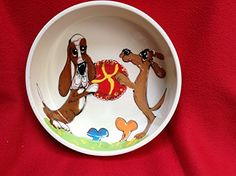 Pet Bowl 8 Dog Bowl for Food or Water Personalized at no Charge Signed by Artist Debby Carman >>> Want to know more, click on the image.