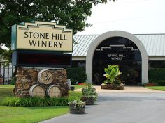 Stone Hill Winery in Branson, MO. has an amazing facility that is a must see. For the sweet wine lover, Pink Catawba is divine!