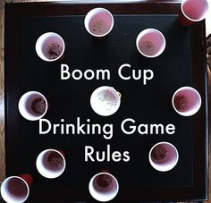 If you've never played Boom Cup (AKA Slap Cup) before, you're missing out. Perfect for your morning pre-game at #CountryFest! #drinkinggames #camping
