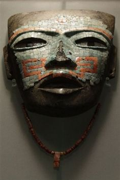 A prehispanic piece belonging to the exhibition Teotihuacan, City of Gods, is seen at the National Museum of Anthropology in Mexico City, Photo Reuters May 21, 2009.