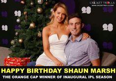 Happy Birthday Shaun Marsh For more cricket fun click: http://ift.tt/2gY9BIZ - http://ift.tt/1ZZ3e4d
