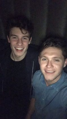 Niall & Shawn on Ni's snap story