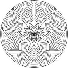 I love this one. It looks like a rose window. Geometrip.com - Free Geometric Coloring Designs - Circles http://geometrip.com/free/coloring/designs/circles/page3.html