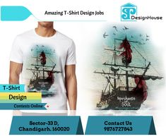 SP Design House has the team of custom T-Shirt #designers who are capable of creating magnetizing #T-Shirt #designcontestsonline to convey your message across to the potentials.