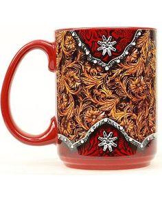 Western Scroll Coffee Mug