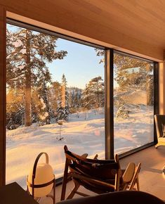 Apartment View, Cabin In The Woods, Most Beautiful Wallpaper, Sistema Solar, Window View, Cozy Cabin, Winter Wonderland, My House, Architecture Design