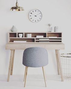 Home Office Space Design Ideas is a part of our furniture design inspiration series. Furniture Inspiration series is a weekly showcase of incredible designs Office Space Design, Home Office Space, Home Office Decor, Workspace Design, Design Room, Office Workspace, Office Spaces, Office Sofa, Bureau Design