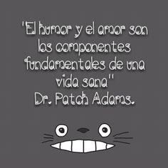 Patch Adams #citas en #español