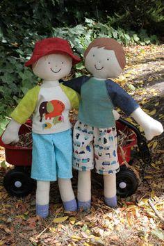 Kinder Boys Rag Doll Pattern