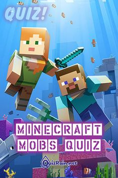 New Minecraft Mobs Quiz! Answer all questions and you will find out how well you know Minecraft Mobs. Adventure Quest, Minecraft Mobs, Grand Theft Auto, Mortal Kombat, World Of Warcraft, Creepers, Healthy Treats, Nintendo Games, Trivia