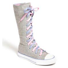 converse knee high boots kids