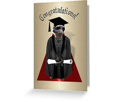 Proud little graduation Meerkat, holding on tight to his diploma!  available on shirts, stickers and more! #Just4grad #Gravityx9 -