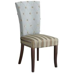 Pier 1 Imports Hourglass Dining Chair - Purple Damask (8 total ...