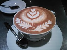 The Most Satisfying Cappuccino Latte Art - Coffee Brilliant But First Coffee, I Love Coffee, My Coffee, Coffee Drinks, Coffee Shop, Coffee Break, Coffee Lovers, Coffee Meme, Coffee Company