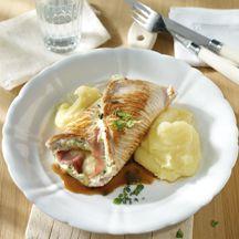 Puten-Cordon-Bleu mit Kartoffel-Sellerie-Püree