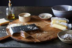 nice A Genius, Soft-Crisp-Crumbly-Cheesy Skillet Shortbread