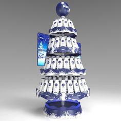 3D Floor Stand. Cliente: Nivea / Beiersdorf. Diseño: Jorge Moreno. moreno + maldonado diseño