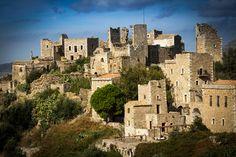The historic village of Vatheia