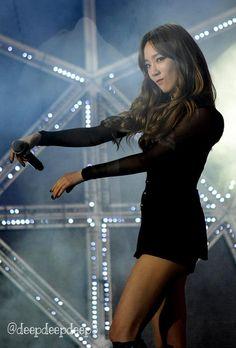 141018 SMTOWN Shanghai Taeng cuteeeeee!!! ><☆ #Taeyeon #snsd #girlsgeneration
