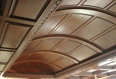Wood Ceilings - Beams with curve