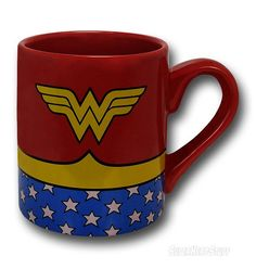 Images of Wonder Woman Costume Ceramic Mug