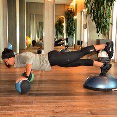 #BOSU #core #workout #plank #fitness