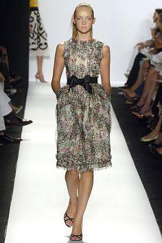 Oscar de la Renta Spring 2006 Ready-to-Wear Fashion Show - Jacquetta Wheeler