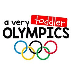 Toddler Approved!: A Very Toddler Olympics