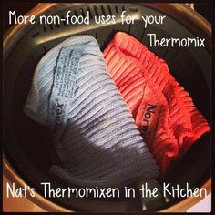 steaming my norwex in my thermomix:)
