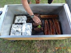 3 trimmed briskets + 3 pork shoulders + 4 racks of ribs = BLISS!!! Thank you, Rob MacCormick! You just made our day!