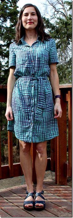 Burda Shirt Dress
