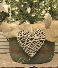 плетеное сердце