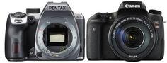 Pentax-K-70-vs.-Canon-760D Canon 760d, Camera Comparison, Binoculars