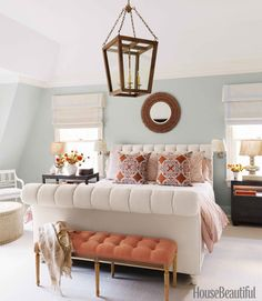 6th Street Design School: The Look for Less: Calming Master Suite