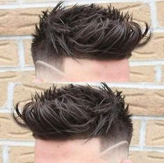 53 Splendid Shaved Side Hairstyles for Men 2019 Undercut Hairstyles, Hairstyles Haircuts, Haircuts For Men, Trendy Hairstyles, Shaved Side Hairstyles Men, Men Undercut, Hair And Beard Styles, Short Hair Styles, Hair With Flair