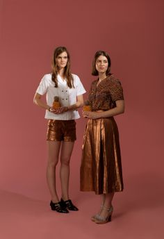 Carleen SS14 via Honey Kenned - there's that metallic again. <3