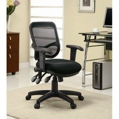 Wildon Home Contemporary Mid-Back Mesh Office Task Chair