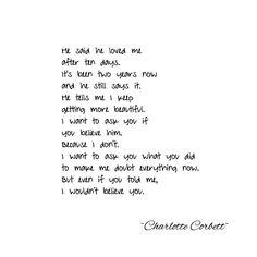 """90 Likes, 11 Comments - Charlotte Corbett (@charlotte.corbett) on Instagram: """"Non-believer #writersoninstagram #poetsofinstagram #poetry #writer #words #wordlover #writersofig…"""""""