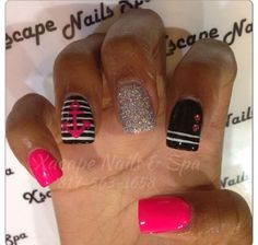 cute nail designs pinterest | Cute Anchor Nail Designs