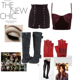 """Sucker Punch Inspired 2"" by simonedm ❤ liked on Polyvore"