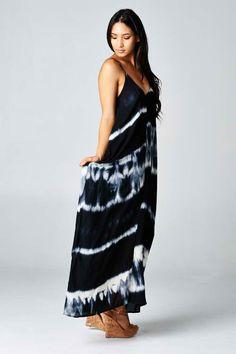 Maxi Dress w/ Pockets $55.00
