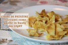 Chips di Patate croccanti come quelle in busta ma Light