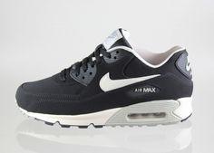 Nike Air Max 90 Essential LTR (Black / Mortar - Mine Grey)